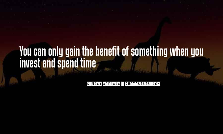 Quotes On Well Spent Time #1266733