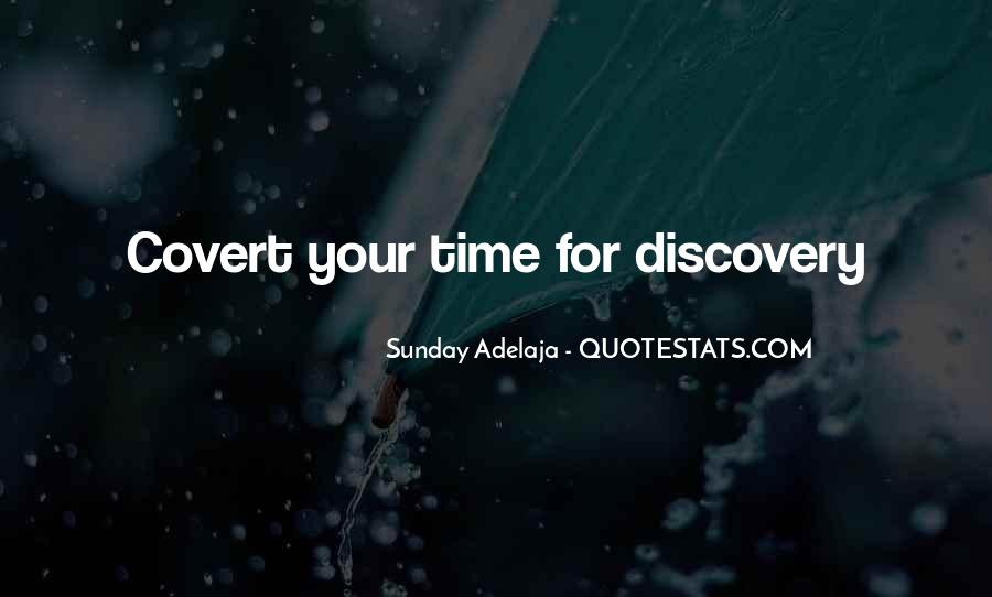 Quotes On Well Spent Time #162281