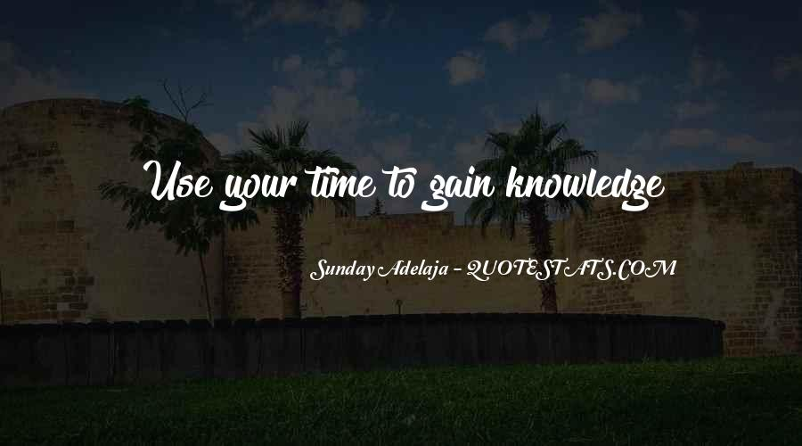 Quotes On Well Spent Time #352825