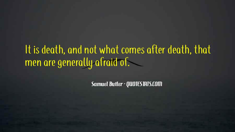 Quotes On What Comes After Death #1751765