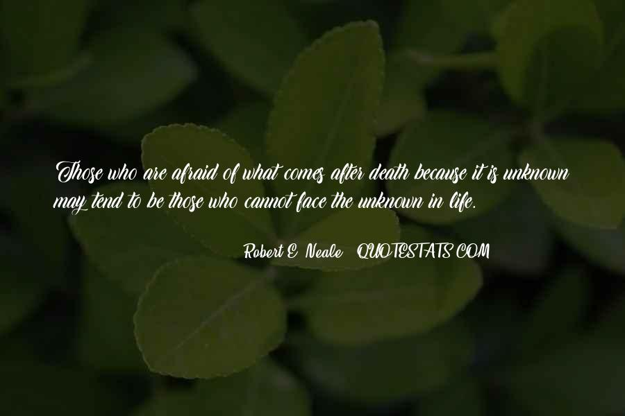 Quotes On What Comes After Death #60616