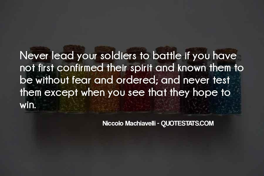 Quotes On Winning Over Fear #1173221
