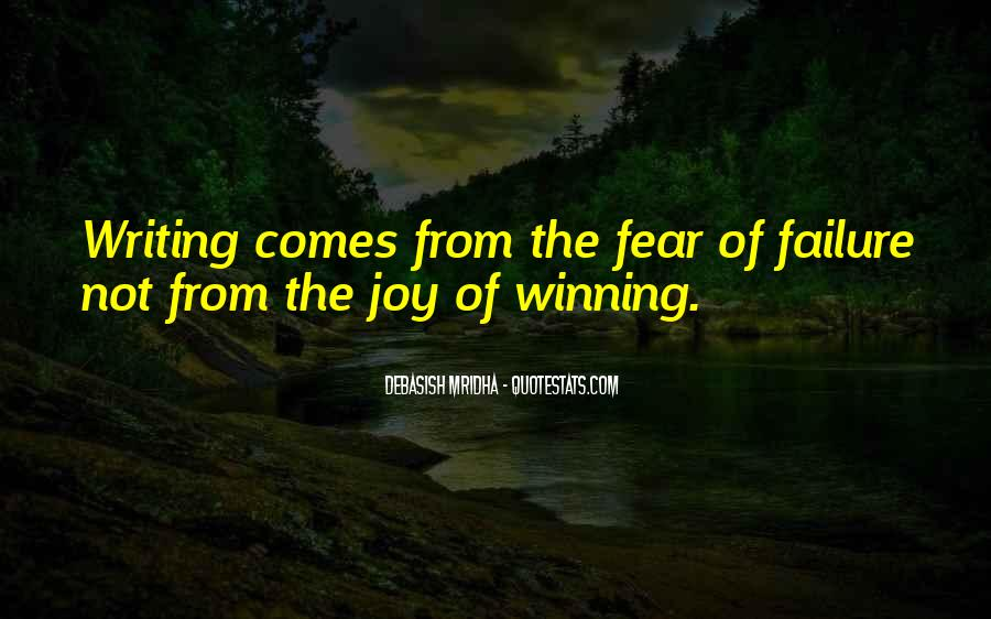 Quotes On Winning Over Fear #1233194