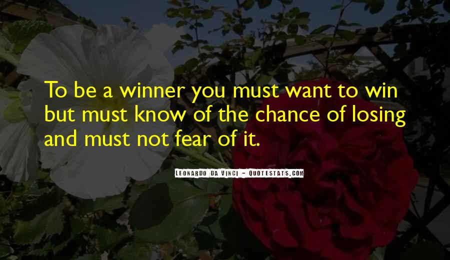 Quotes On Winning Over Fear #1383772