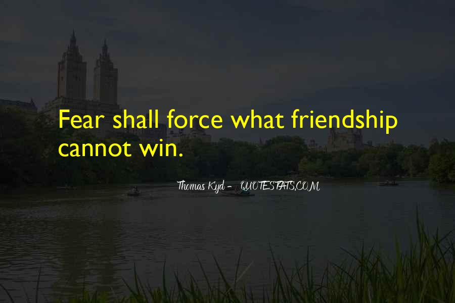 Quotes On Winning Over Fear #183872