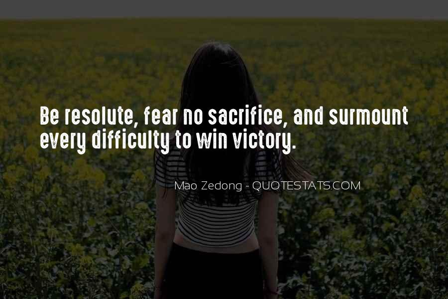 Quotes On Winning Over Fear #216365