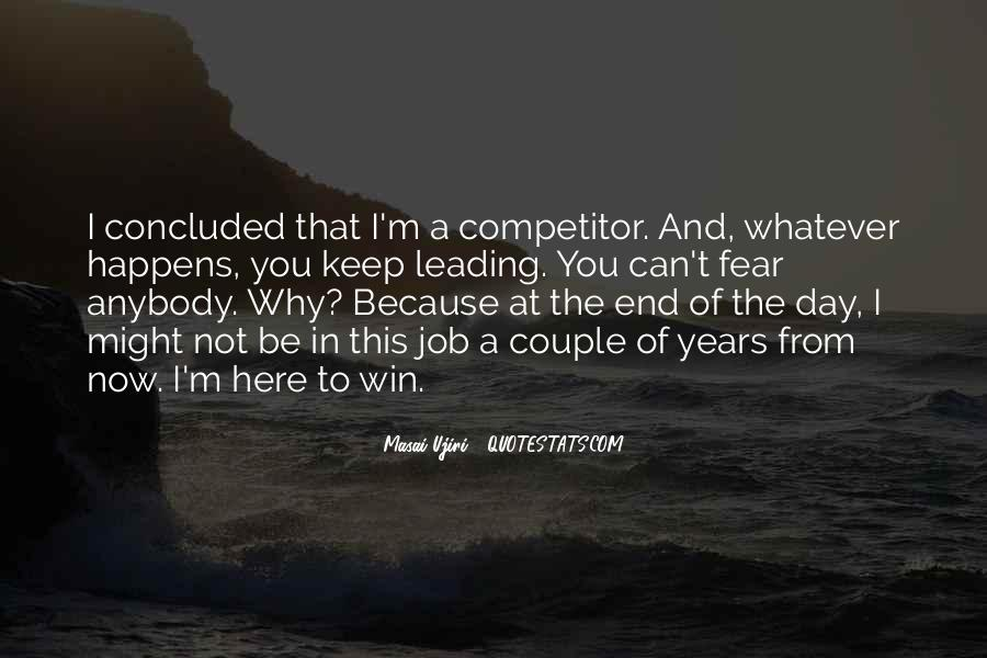 Quotes On Winning Over Fear #315053