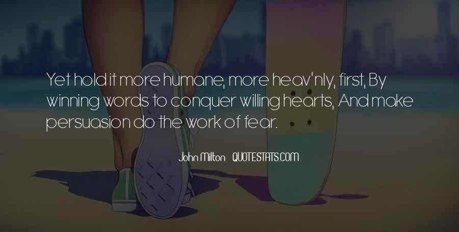 Quotes On Winning Over Fear #64177
