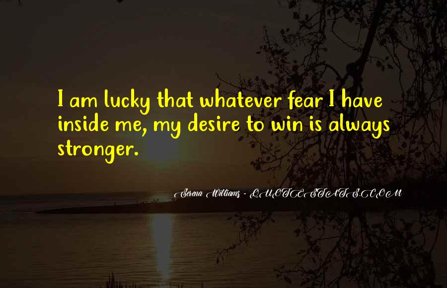 Quotes On Winning Over Fear #672742