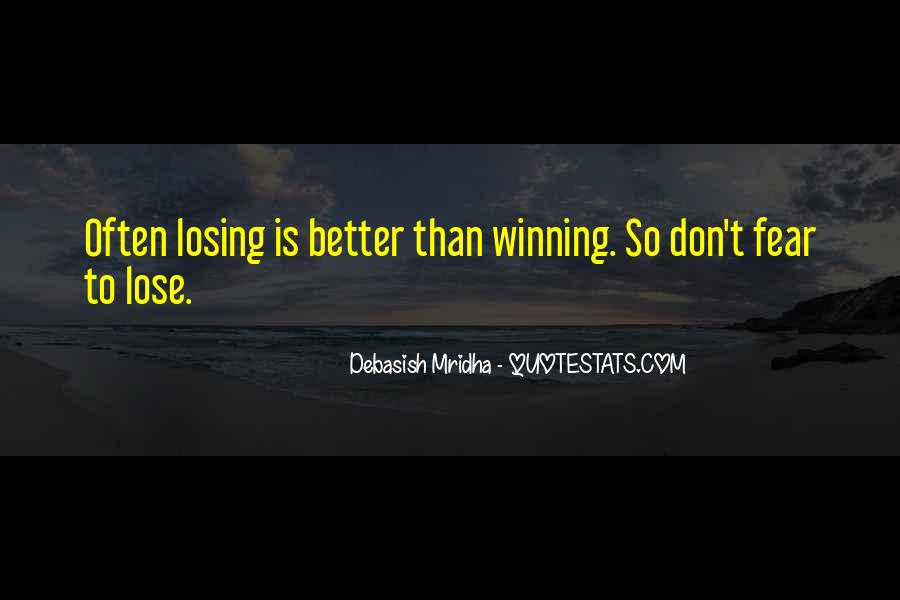 Quotes On Winning Over Fear #773138