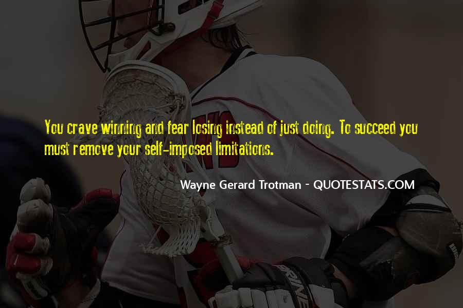Quotes On Winning Over Fear #930170