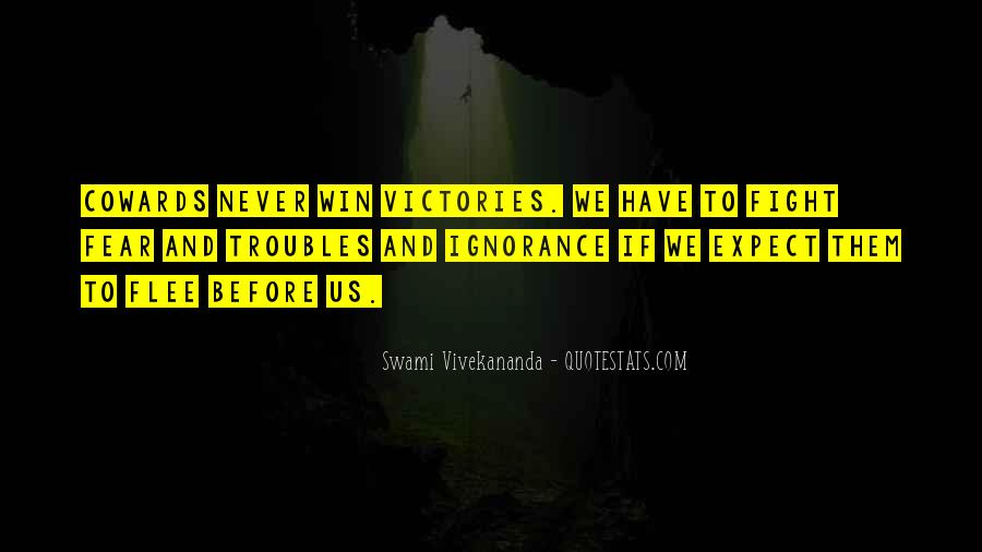 Quotes On Winning Over Fear #963986