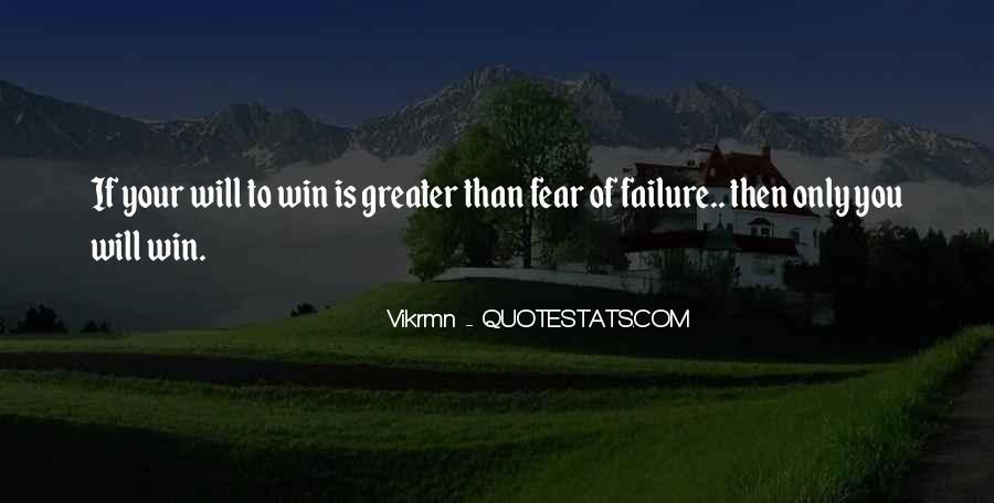 Quotes On Winning Over Fear #969725