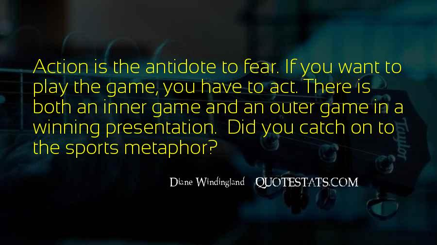 Quotes On Winning Over Fear #983798