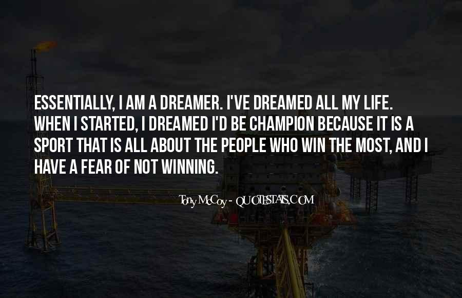 Quotes On Winning Over Fear #992691