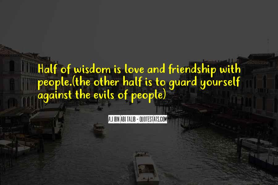 Quotes On Wisdom And Friendship #1789082