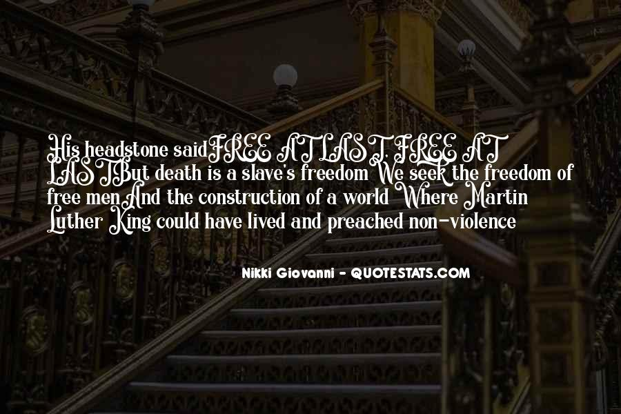 Quotes On World Peace And Nonviolence #1565390