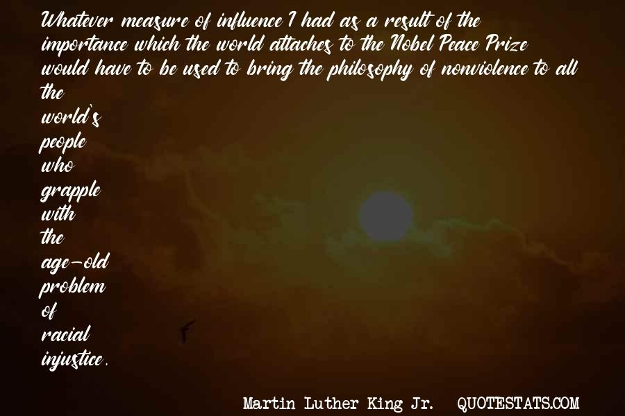 Quotes On World Peace And Nonviolence #189248