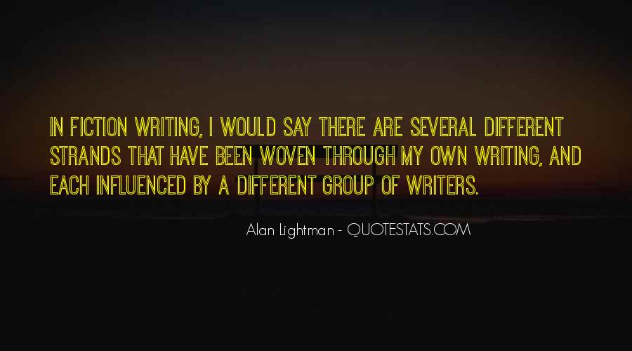 Quotes On Writing By Writers #1184377