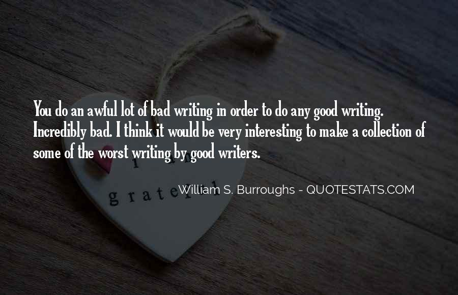 Quotes On Writing By Writers #152858