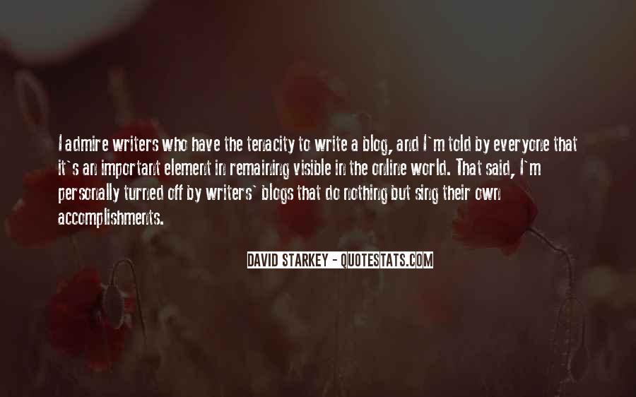 Quotes On Writing By Writers #218238