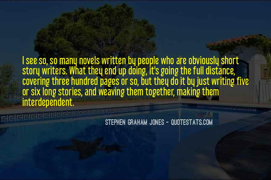 Quotes On Writing By Writers #223537