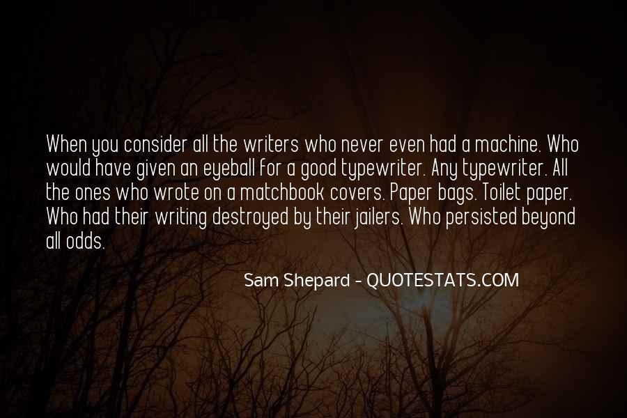 Quotes On Writing By Writers #273700