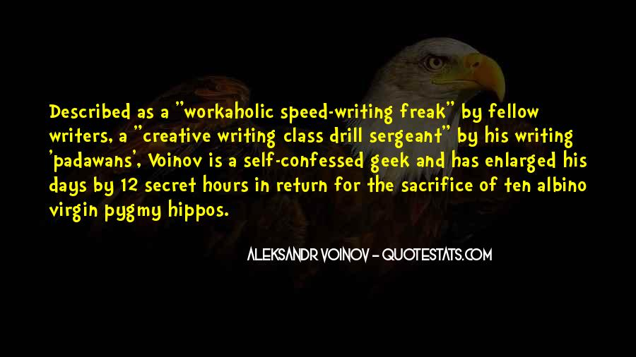 Quotes On Writing By Writers #38455