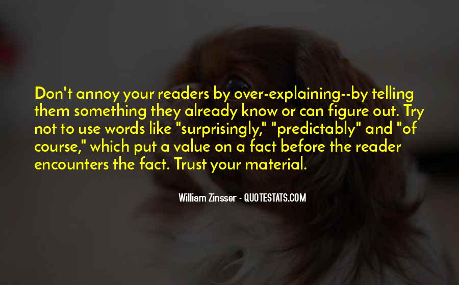 Quotes On Writing By Writers #434861