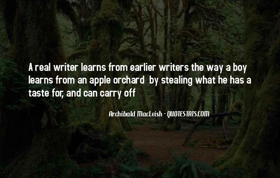 Quotes On Writing By Writers #480176