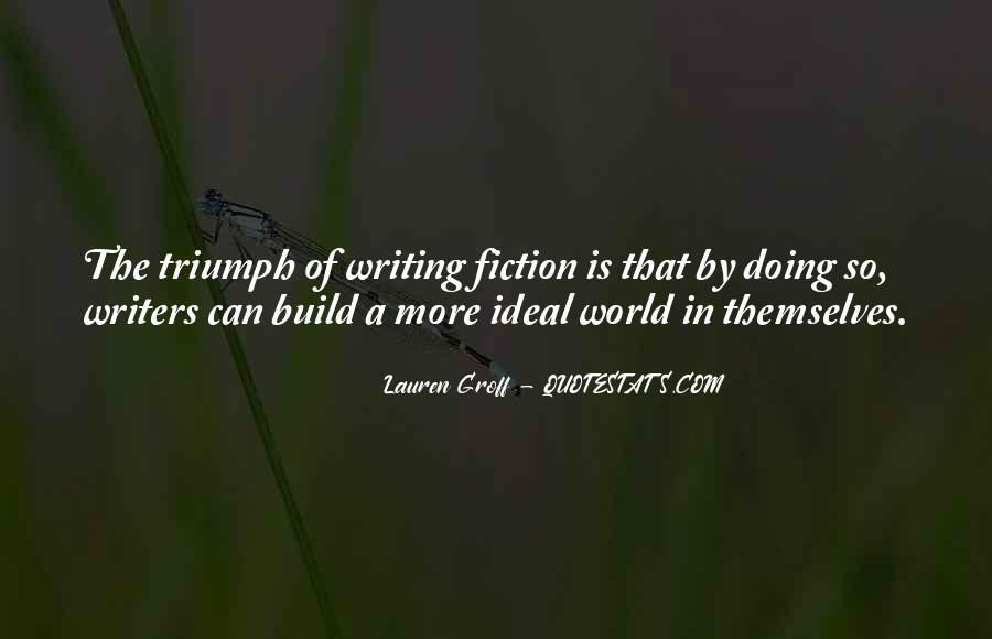 Quotes On Writing By Writers #509734
