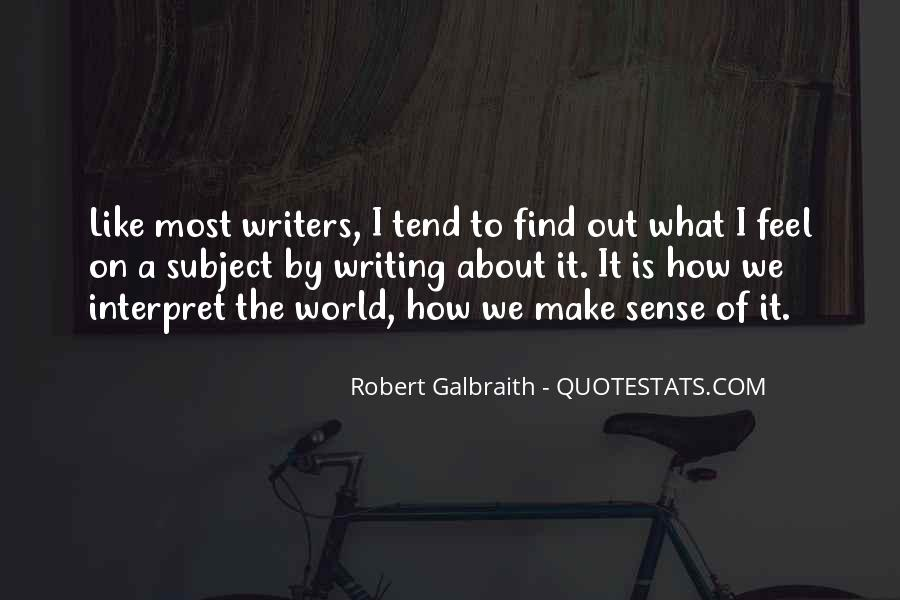 Quotes On Writing By Writers #562038