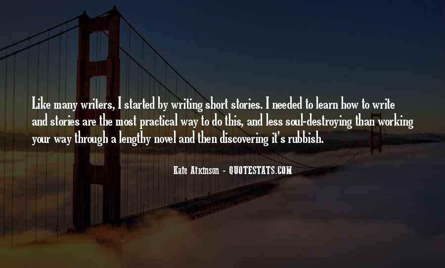 Quotes On Writing By Writers #700836