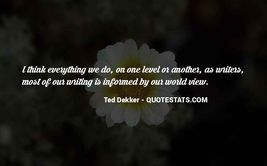 Quotes On Writing By Writers #715334
