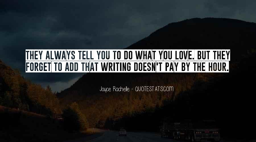 Quotes On Writing By Writers #757234