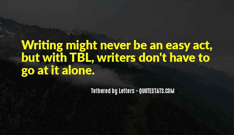 Quotes On Writing By Writers #789151