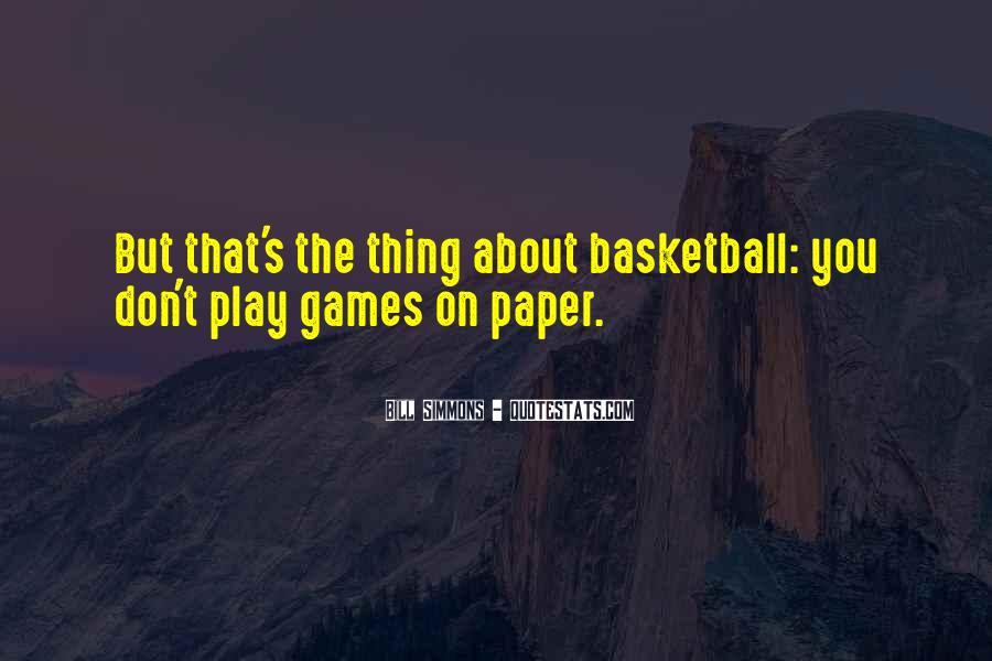1 On 1 Basketball Quotes #71391