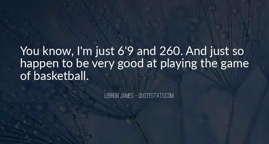1 On 1 Basketball Quotes #954