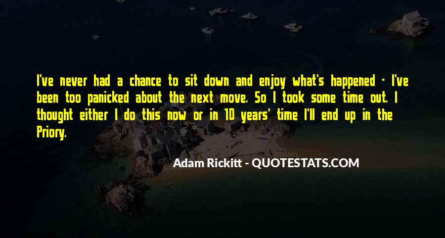 10 Years Time Quotes #1302971