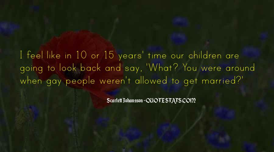 10 Years Time Quotes #1447259