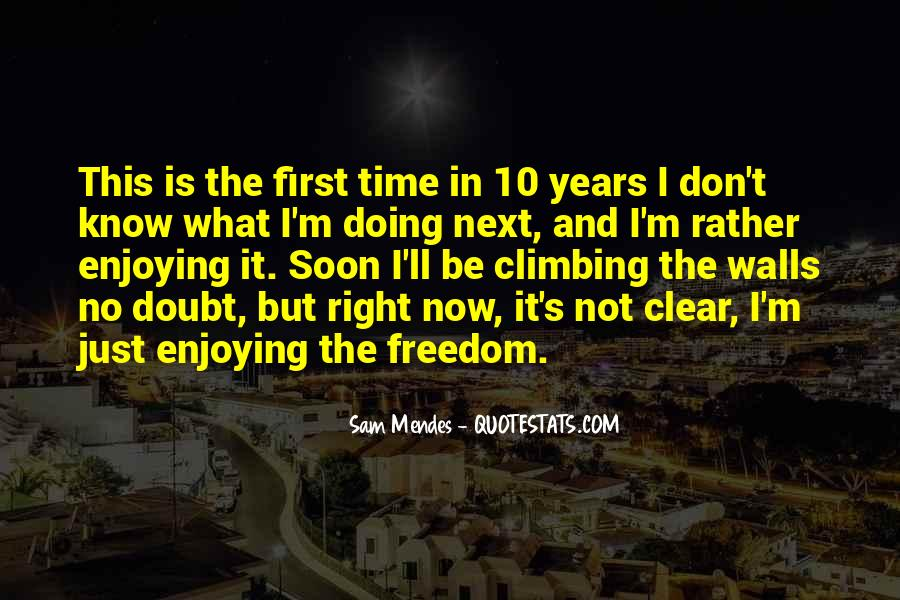 10 Years Time Quotes #982043