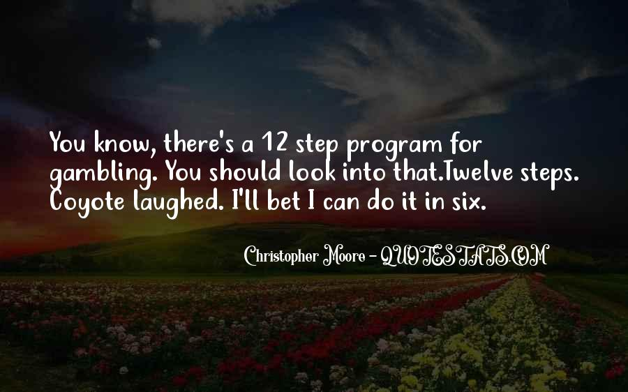 12 Step Program Quotes #1559928