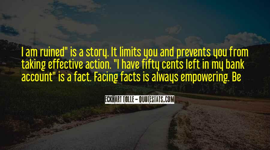 Quotes About Not Facing The Facts #1055211