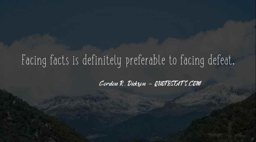 Quotes About Not Facing The Facts #1122022