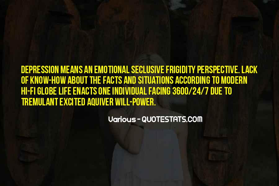 Quotes About Not Facing The Facts #1124539