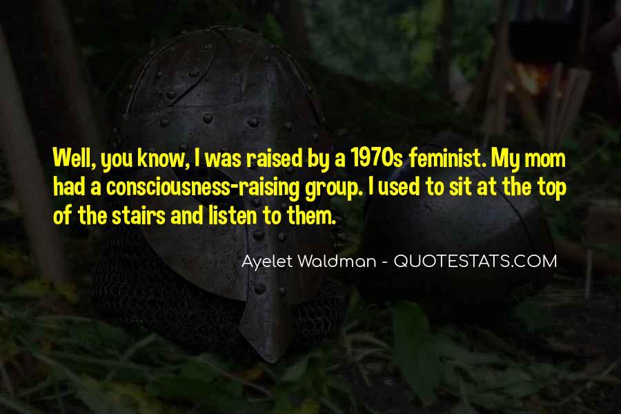 1970s Feminist Quotes #372214