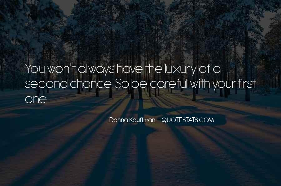 2 Chance Love Quotes #19100