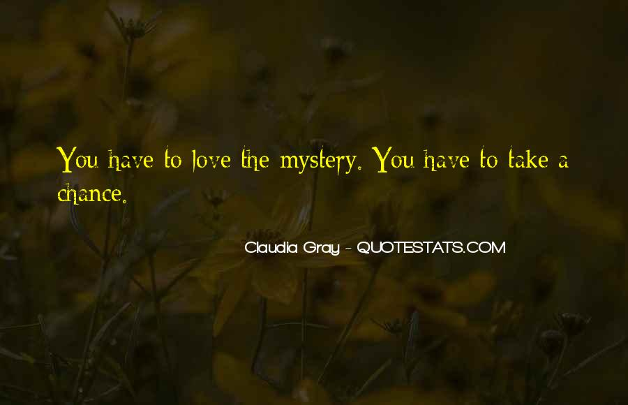 2 Chance Love Quotes #30147