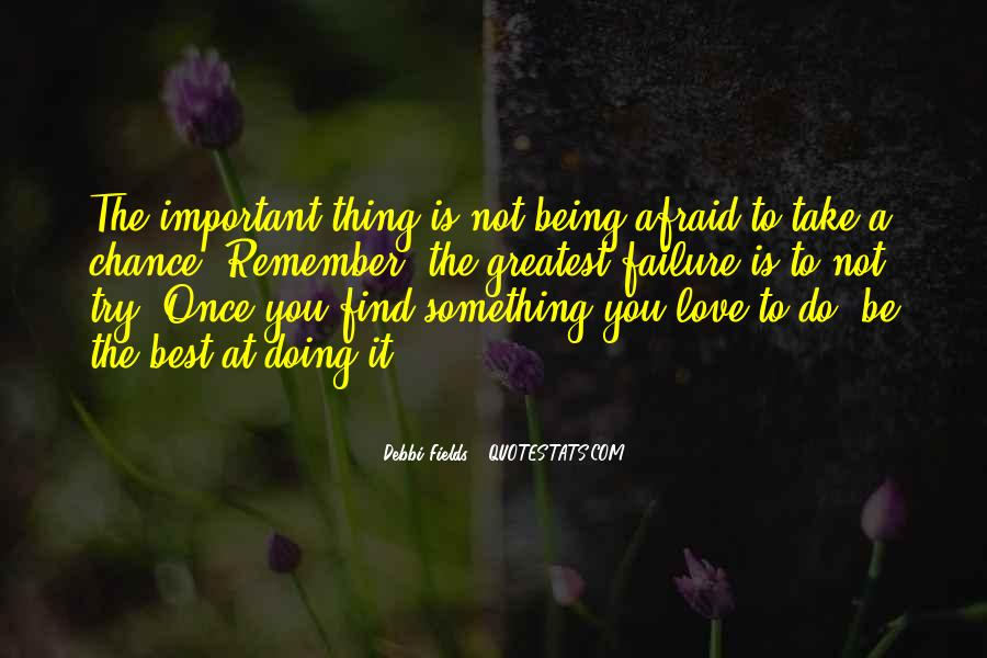 2 Chance Love Quotes #3395