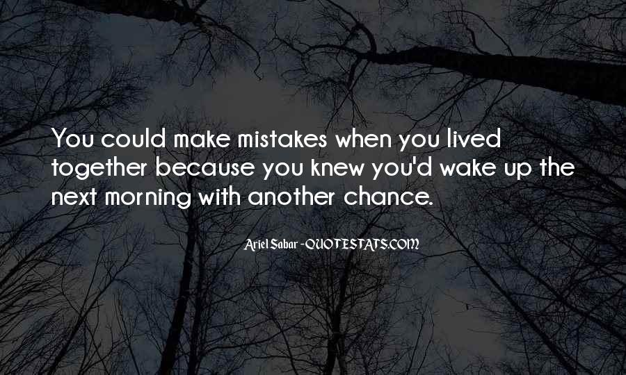 2 Chance Love Quotes #34894